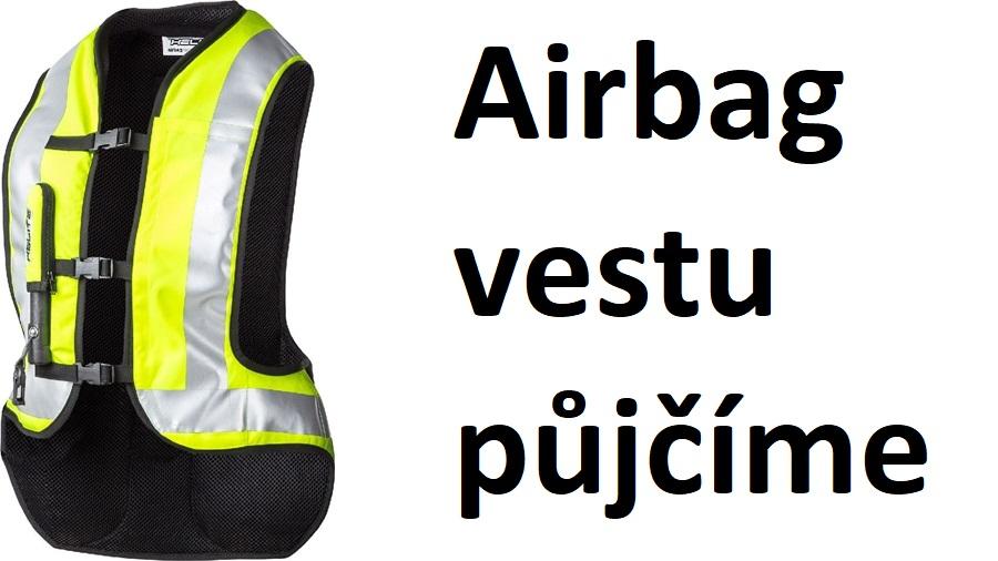 Airbag vesta Helite k zapůjčení v motoškole