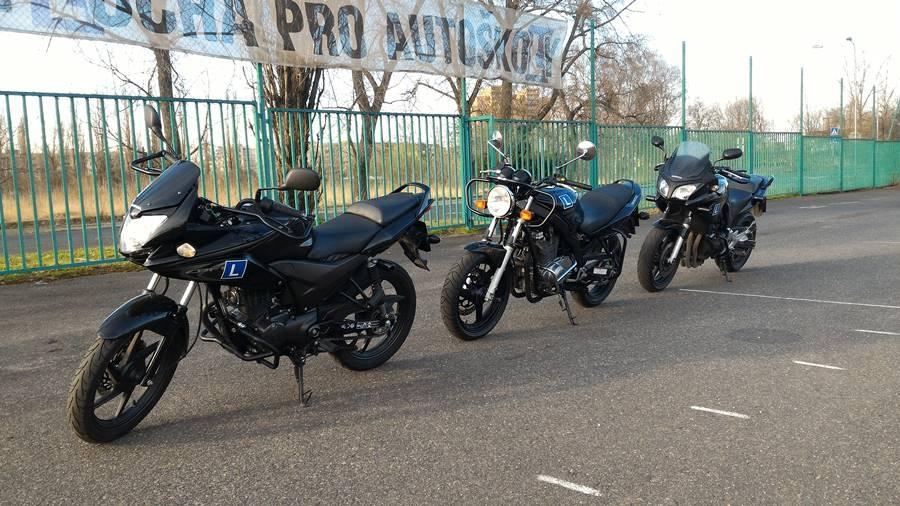 Motocykly autoškoly Leon