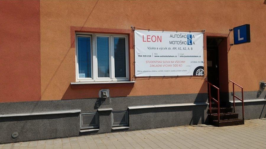 Učebna Autoškoly Motoškoly Leon v Ostravě